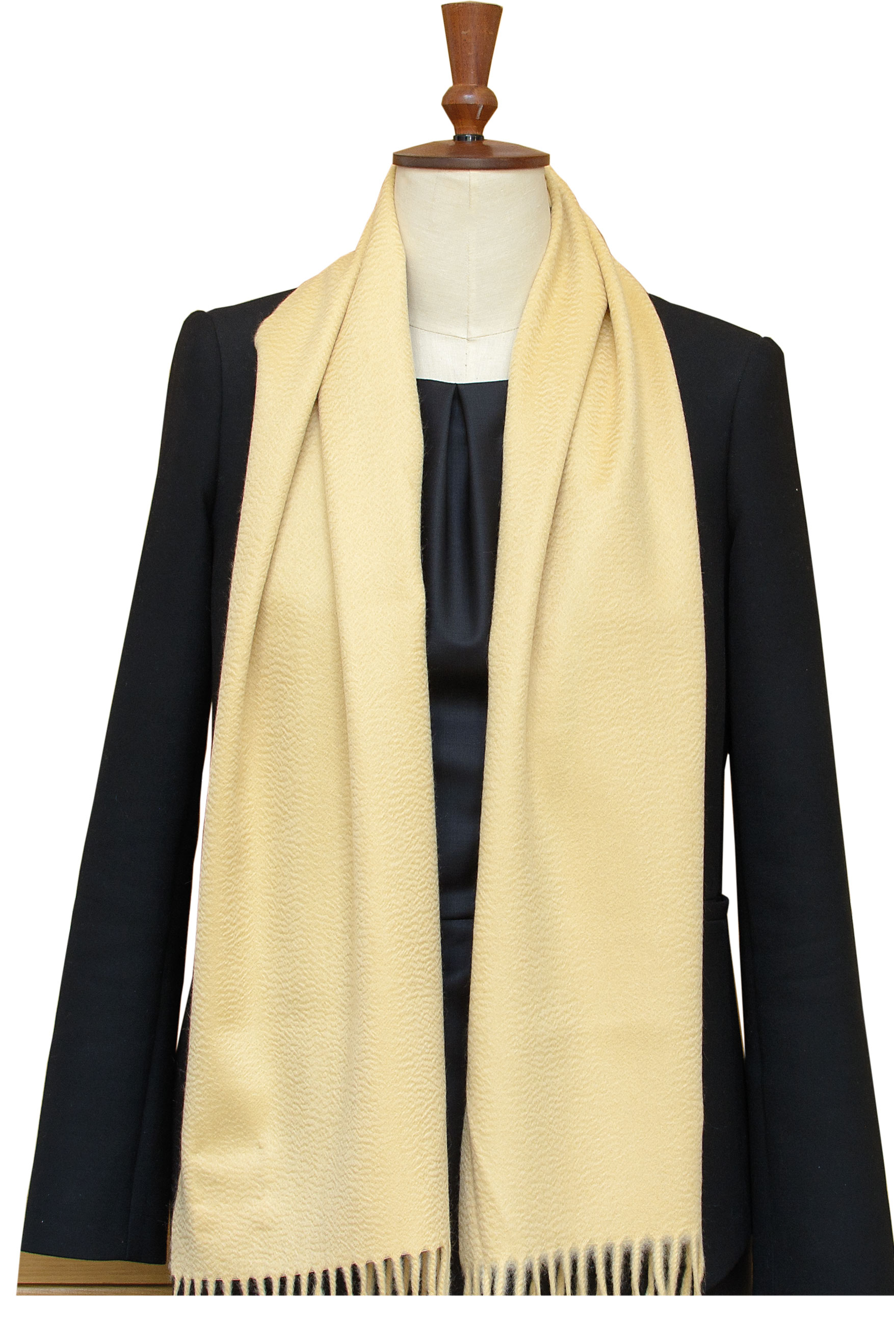 Cashmere-Scarves-Wheat