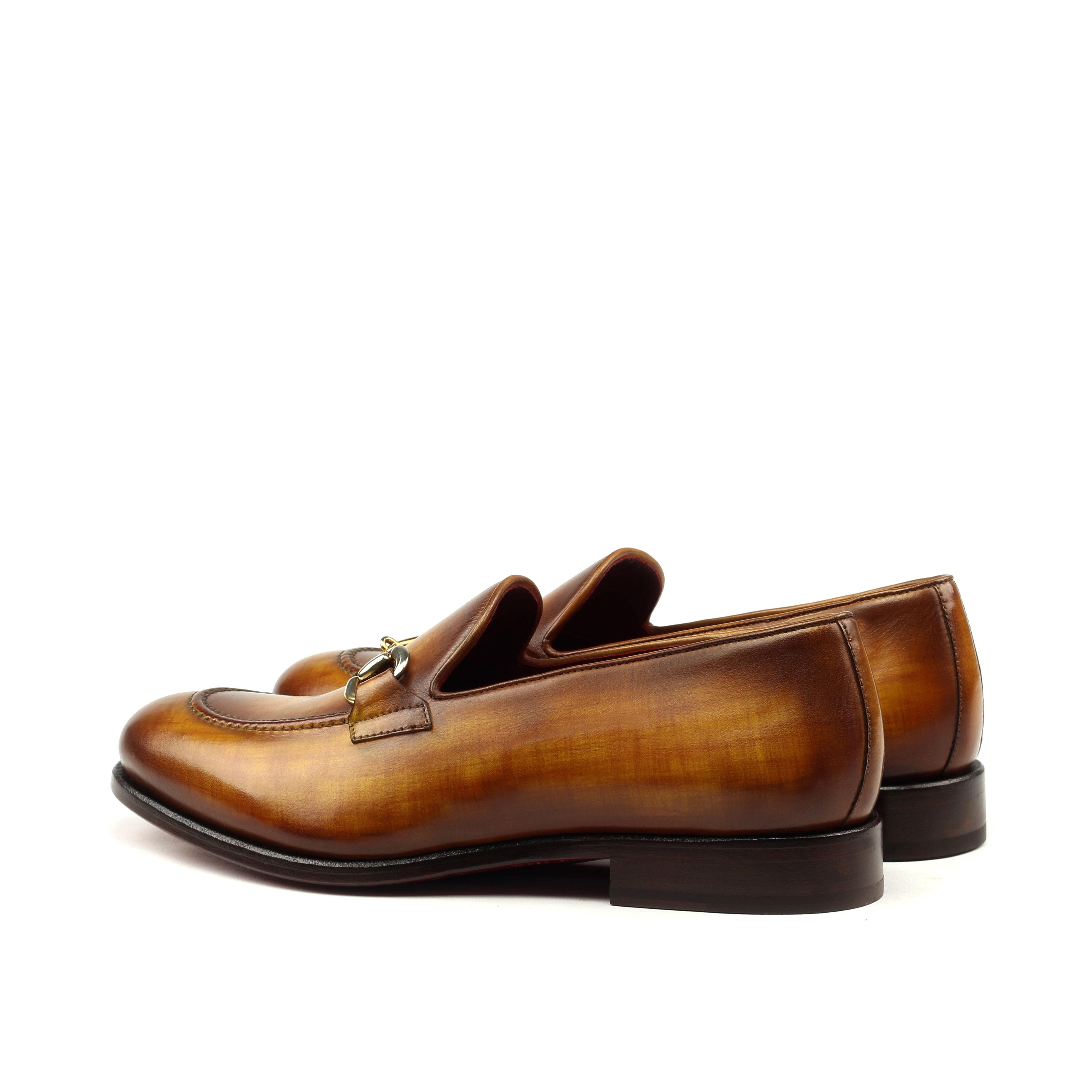 Loafer Bit – Cognac Patina-Ang5