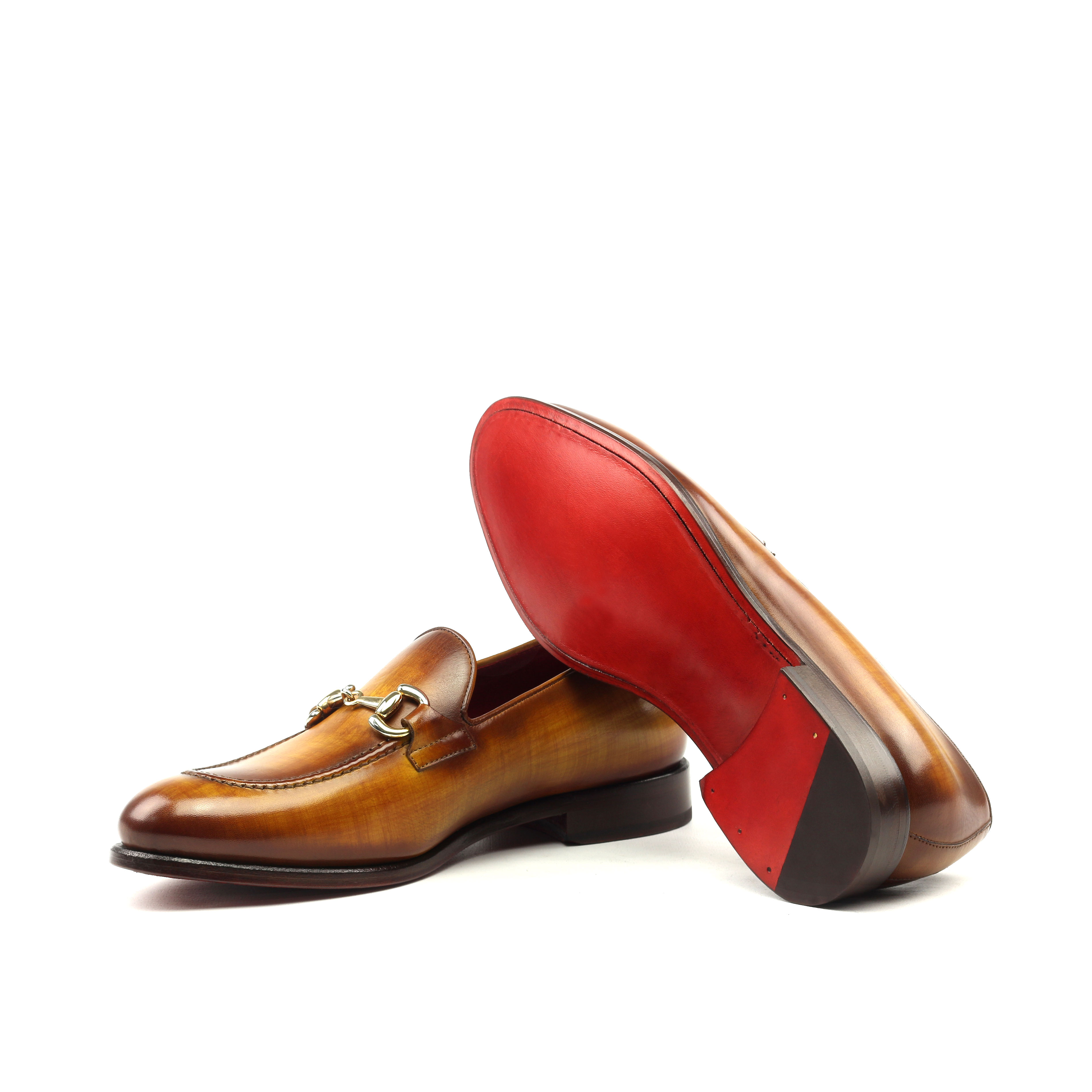 Loafer Bit – Cognac Patina-Ang9
