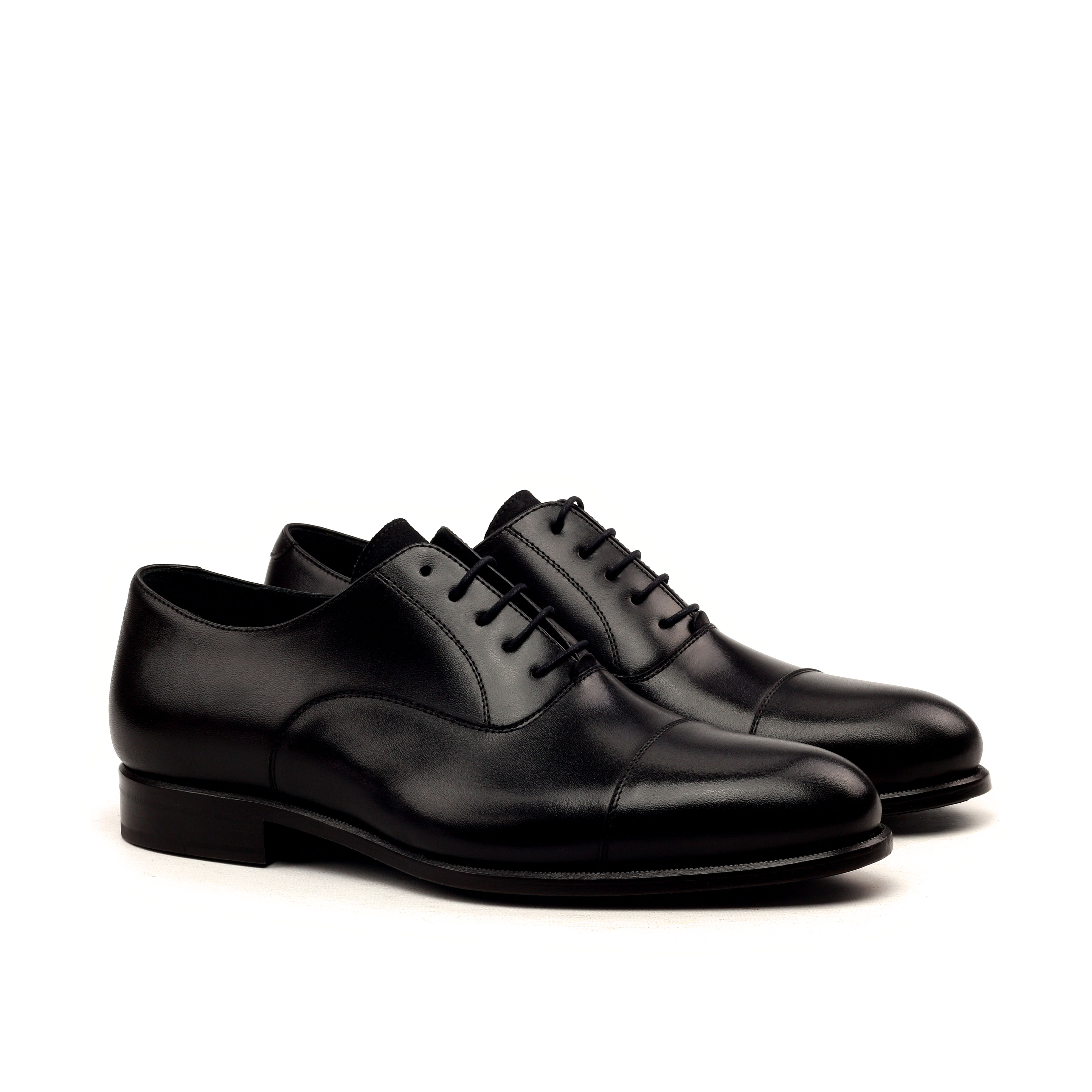 Oxford – Box Calf Black-Lux Suede Black-Ang5